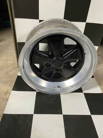 Original Turbo Fuchs wheel set 16 inch 7J and 8J