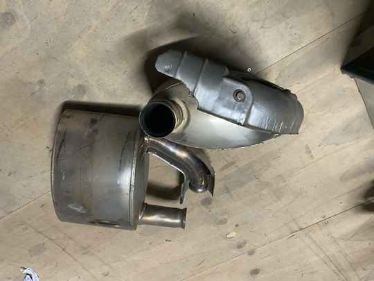 Porsche 993 94-98 sport muffler kit from Dansk.