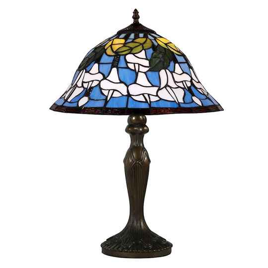 A TIFFANY STYLE TABLE LAMP  -  DSTF-104
