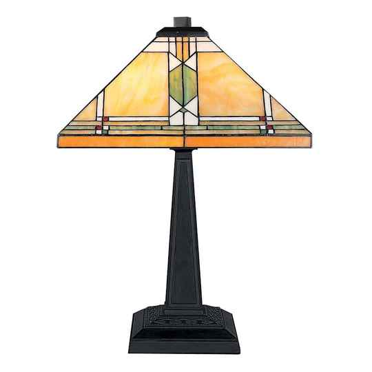 A TIFFANY STYLE TABLE LAMP - DSTF-127