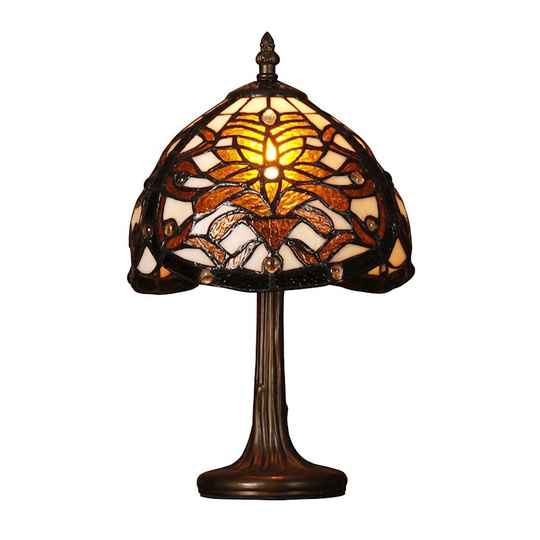 A TIFFANY STYLE TABLE LAMP - DSTF-114