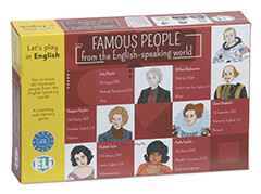 Taalspel Famous People from the English-Speaking world (A2-B1)