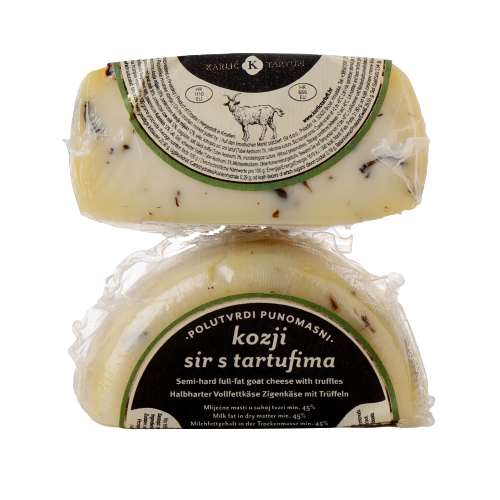 KARLIC - Goat cheese with truffles ca 200 gr