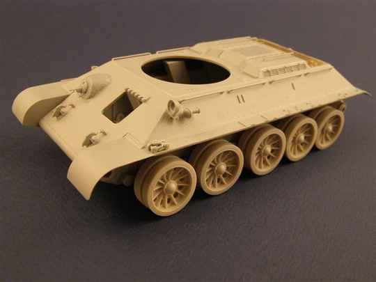 """Late """"Spider"""" Wheels for T-34/54 TanksPZA35028"""