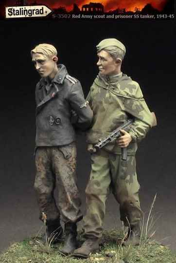 Red Army Scout & Prisoner STALIN3502