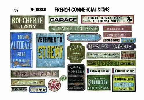 French Commercial Signs VP-23