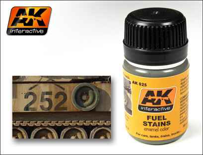 Fuel Stains AK 025