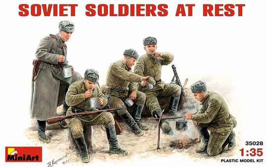 Soviet Soldiers at RestMIN35028