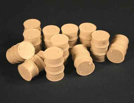 French Fuel Drums WWII (200L) PZA35086