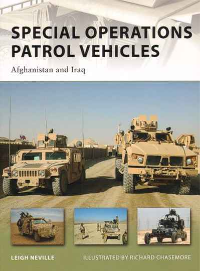 Special Operations Patrol Vehicles (BOOK 24)