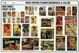 Movie Posters, Playboy Centerfolds & Pin Ups VP-274