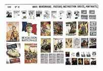 WW2 Newspapers, Posters, Instruction Sheets etc VP-12