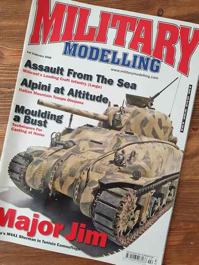 Military Modelling MAG 45