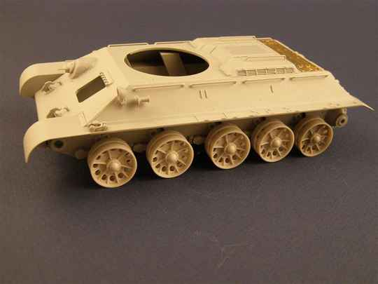 """Burn out """"Spider"""" Wheels for T-34 TankPZA35025"""
