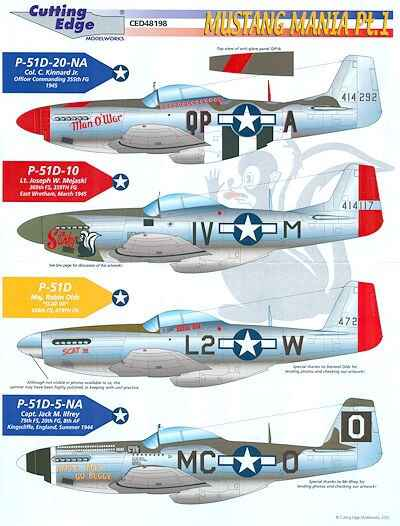 P-51D Mustang Mania CED48198