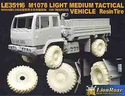M1078 Resin Tires  LE35116