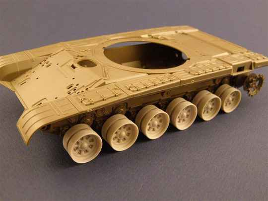 Burn out Wheels for T-72 TankPZA35027