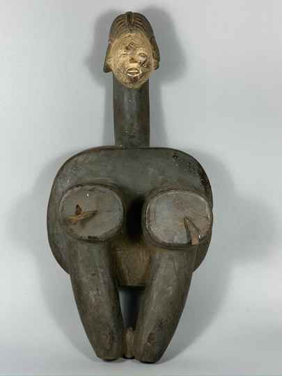 191006 - Tribal Used African bellows from the Punu - Gabon.