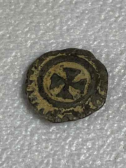 210923 - Kingdom of Aksum or Axum – Brass coin of ANONYMUS (ca. 440-470 A.D.).