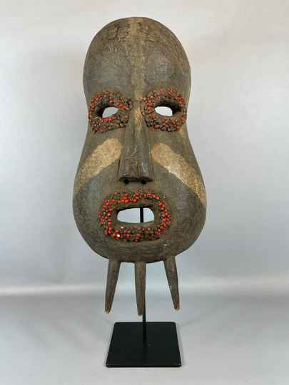211010 - Tribal used mask from the Ogoni - Nigeria.