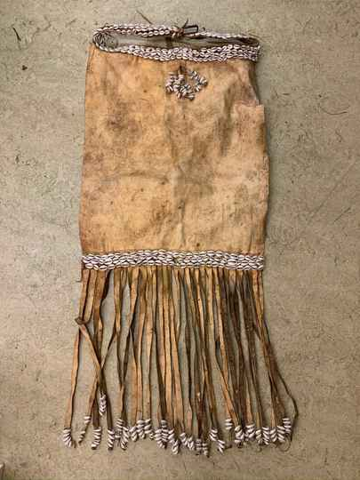 191217 - Large Tribal used Traditional Amhara Baby carrierbag - Ethiopia.