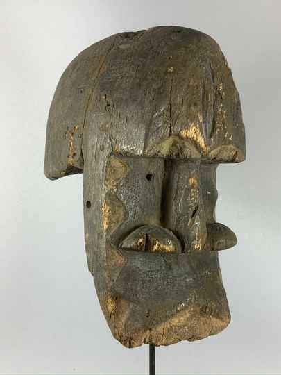 200371 - Old Tribal used Rare African mask from Eket - Nigeria.