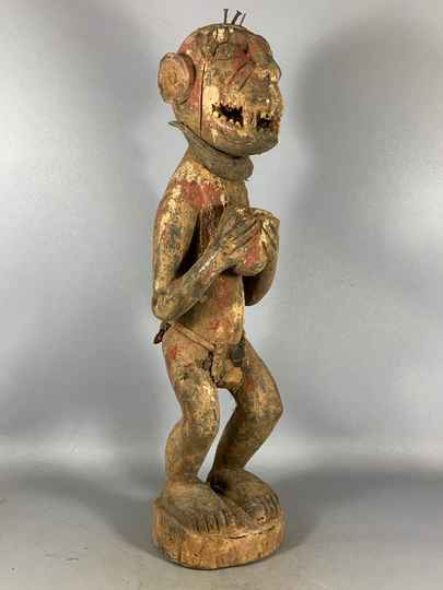 210138 - Rare Tribal used Fetisch statue from the Ogoni - Nigeria.