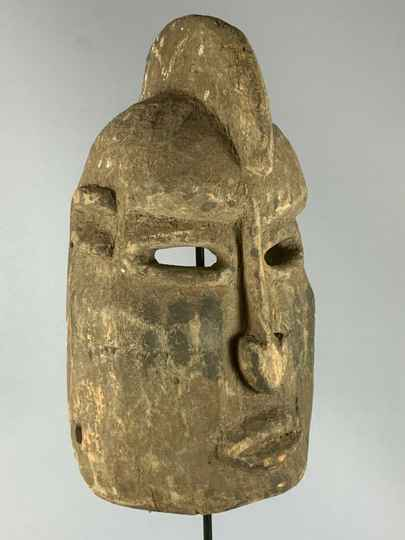200362 - Old Tribal Used African Dogon Mask - Mali.
