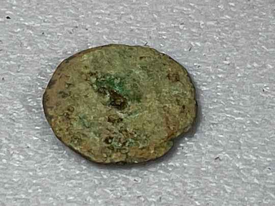 210731 - Kingdom of Aksum or Axum – Brass coin of ANONYMUS (ca. 440-470 A.D.).