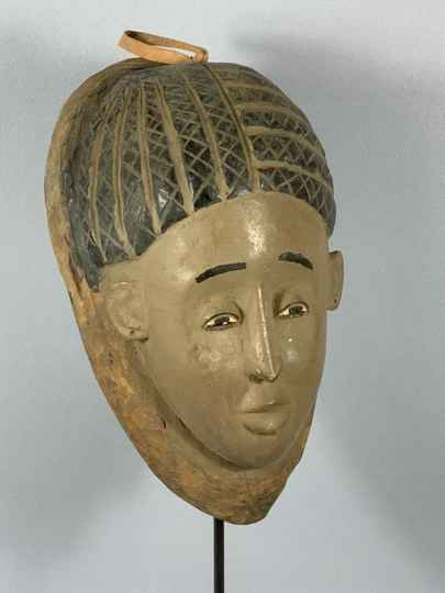 181221 - Old extremly Rare African Tribal used Baga Nimba mask - Guinea.