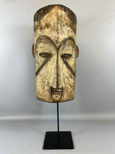 210966 - Old & Tribal used African Fang mask - Gabon.