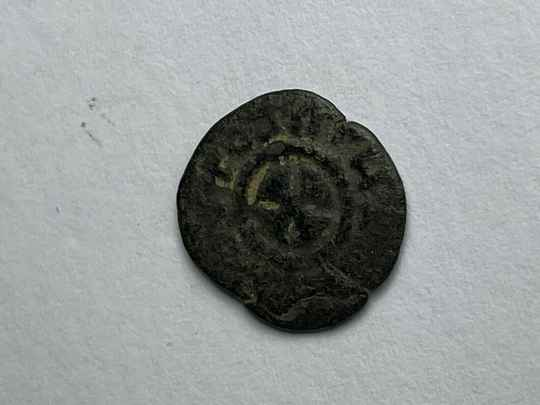 210856 - Kingdom of Aksum or Axum – Brass coin of ANONYMUS (ca. 440-470 A.D.).