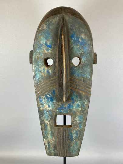 210528 - Old Tribal Used African Dogon Mask - Mali.