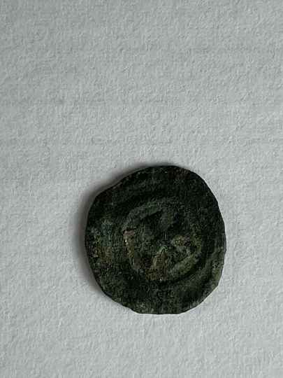 210917 - Kingdom of Aksum or Axum – Brass coin of ANONYMUS (ca. 440-470 A.D.).