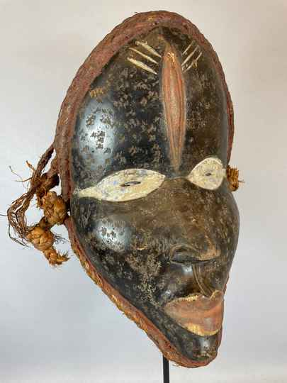 210711 - Old Tribal Used African Mask from the Dan People - Liberia.