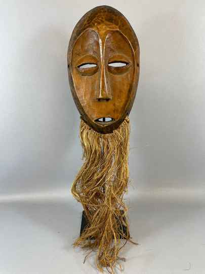 210962- Old Tribal used African mask from the Lega Bwami - Congo