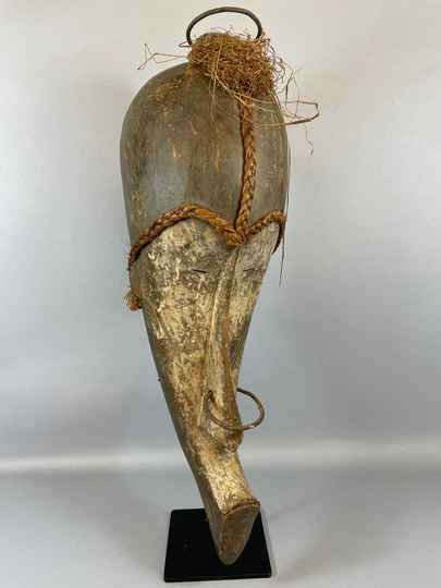 210972 - Old & Tribal used African Fang mask - Gabon.
