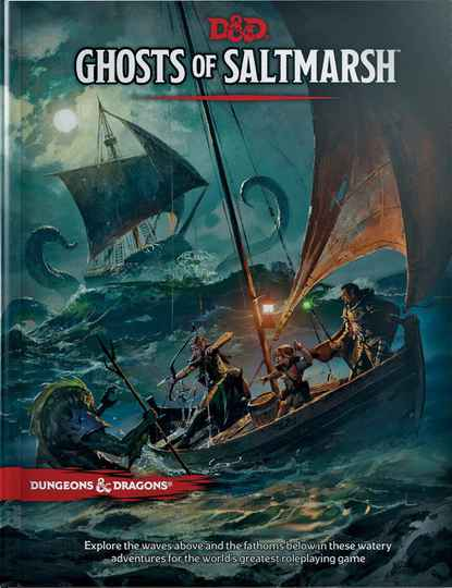 D&D - 5th Ed. - Ghosts of Saltmarsh Normal Edition