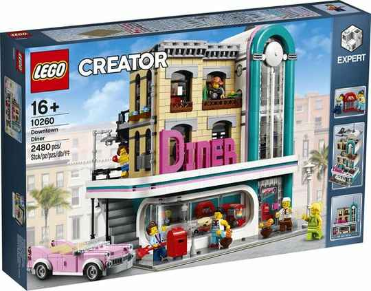Lego 10260 - Creator - Downtown Diner