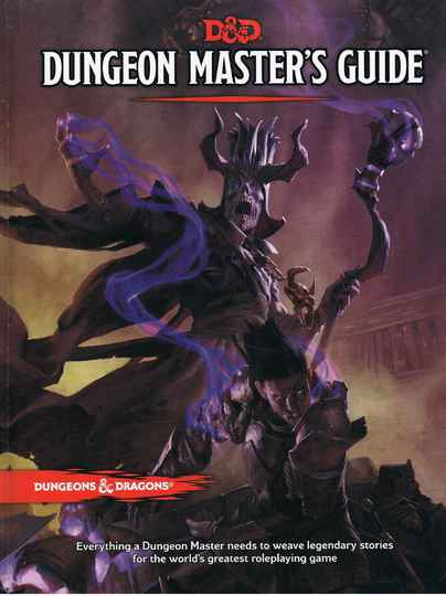 D&D - 5th Ed. - Dungeon's Master Guide