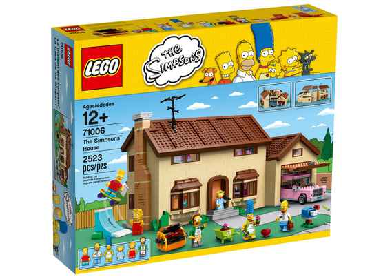 Lego  71006 The Simpsons - Simpsons House