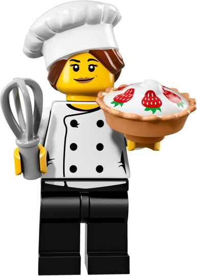 Lego Minifigure - CMF Series 17 - Gourmet Chef
