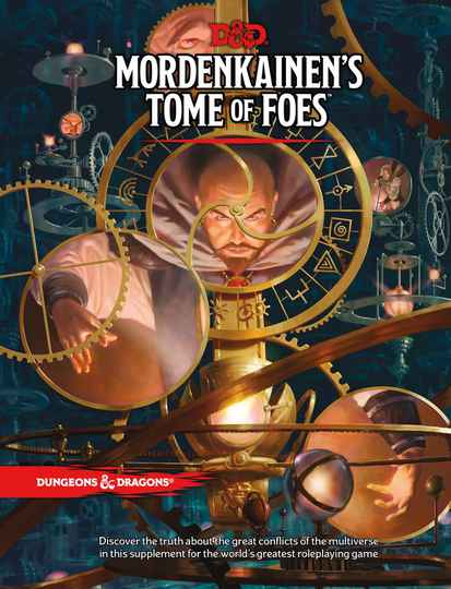 D&D - 5th Ed. - Mordekainen's Tome of Foes Normal Edition
