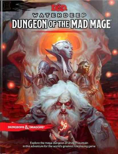 D&D - 5th Ed. - Waterdeep Dungeon of the Mad Mage