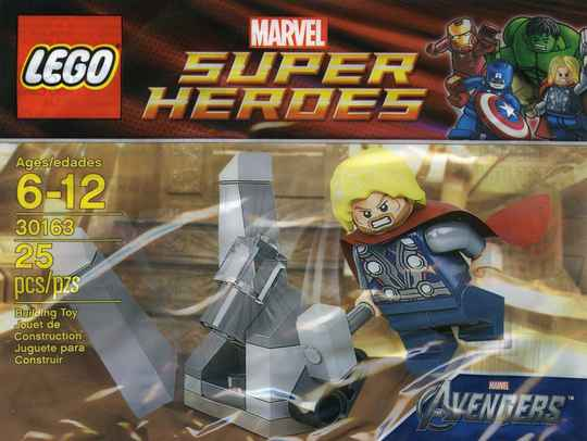 Lego 30163 - Super Heroes - Thor and the Cosmic Cube