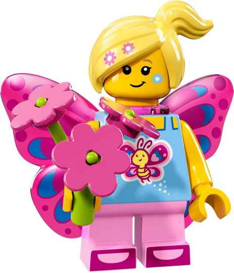 Lego Minifigure - CMF Series 17 - Butterfly Girl