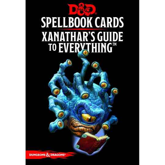 D&D - 5th Ed. - Spellbook Cards - Xanathar's Guide to Everything
