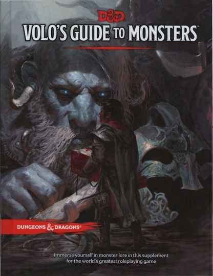D&D - 5th Ed. - Volo's Guide to Monsters