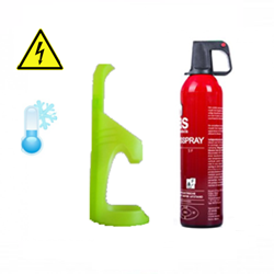Sprayblusser 750ml incl. fluorescerende houder (3jr) 5A-21B-5F