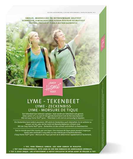 Easy Home Test Lyme Tekenbeet Test/ zeckenbiss